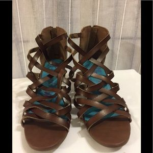 Blowfish gladiator sandals